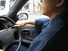 オマケ。運転中。