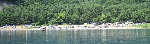 キャンプ場遠景