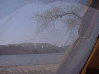 インナーから桧原湖