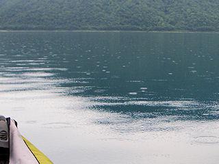 カヌーでおでかけ3・湖中央