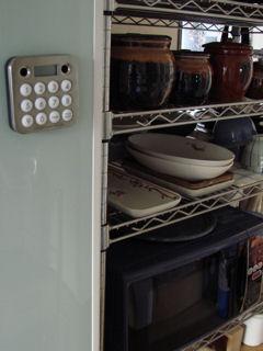 冷蔵庫にタイマー