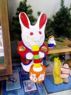 鎌田さんを一躍有名にしたウサギ