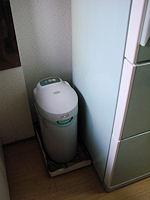 ガス台前・生ゴミ処理機