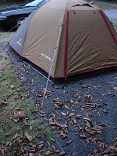 眠るだけのシンプルキャンプ