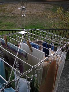 無印良品 壁掛け洗濯物干し