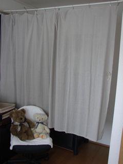 仕切りカーテン