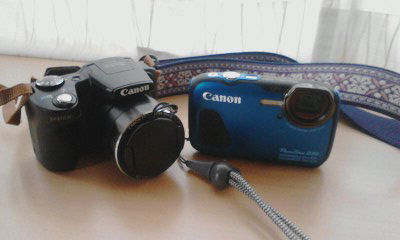 CANONカメラ PowerShot D30 & PowerShot SX510 HS