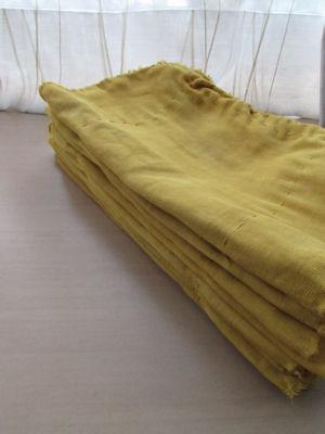 たまねぎの皮染・布ナプ