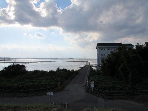 菅生調節池・2015年9月13日撮影