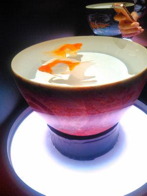 九谷焼の金魚