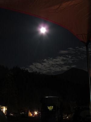 満月堪能キャンプ