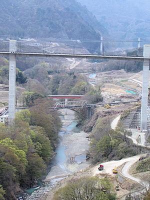 沈んでしまう橋