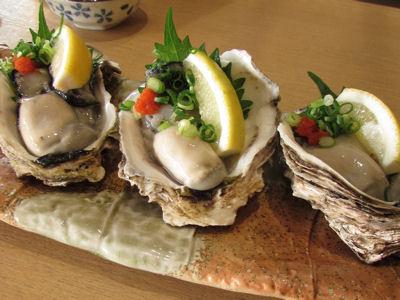 佐渡産岩牡蠣
