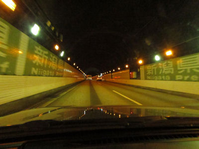関越トンネル県境・3回目のチャレンジでようやく撮影できた