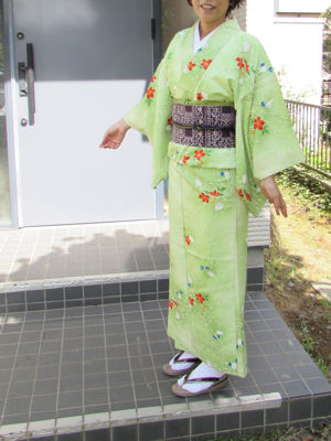 5月の着物