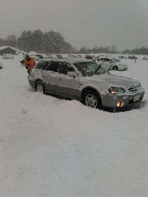 雪かきランカスター
