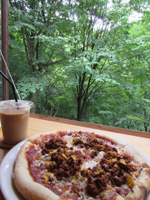 encafeのタコスピザ