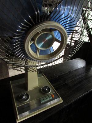 売店にあった扇風機ブラザー製