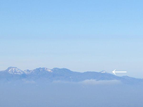 展望台から磐梯山