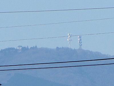 展望台と電波塔