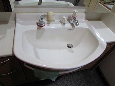 洗面台(ビフォー)